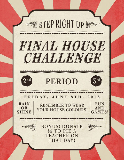 Final House Challenge