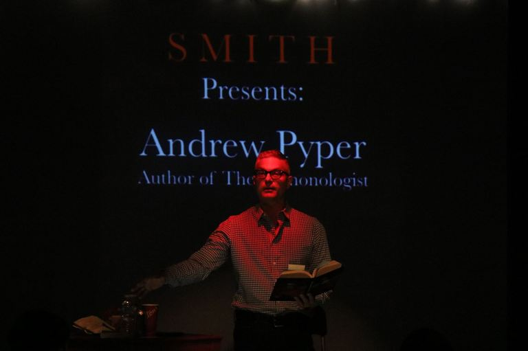 SMITH Program Hosts Andrew Pyper