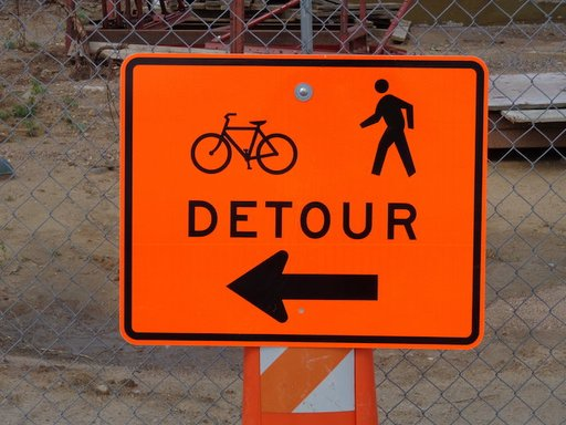 Crosswalk Detours & Construction Update