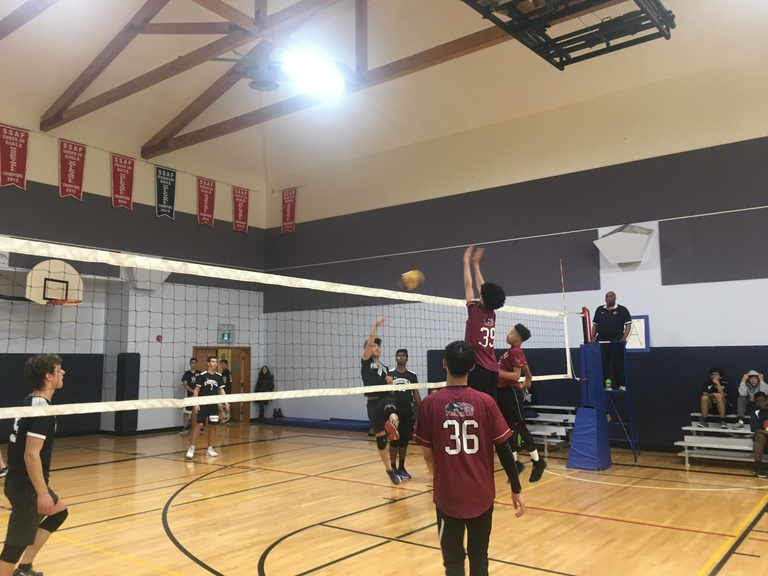 Senior Boys Volleyball SSAF Tournament