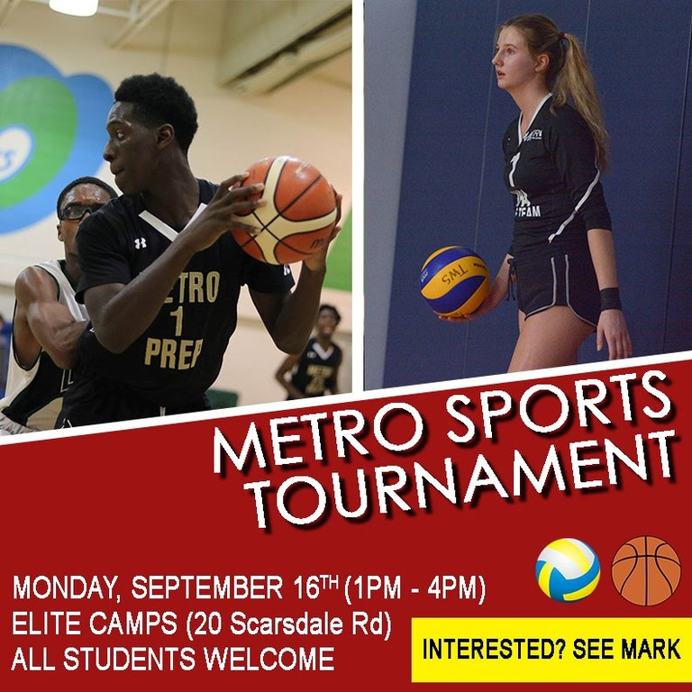 Metro Prep Sports Tournament