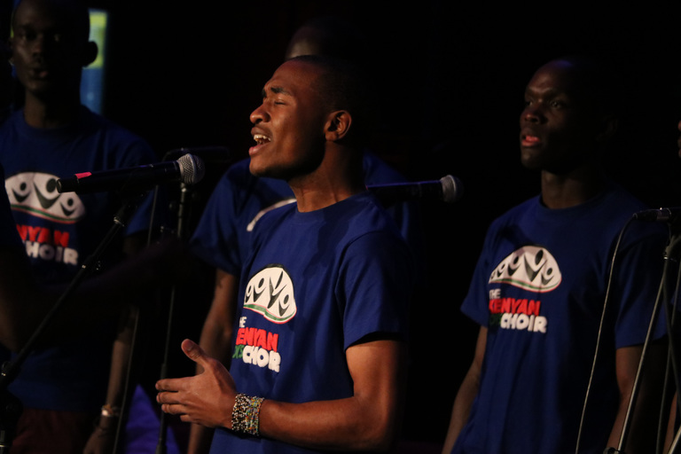 Kenyan Boys Choir Impresses & Inspires